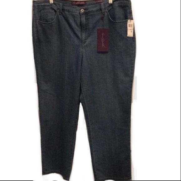 24c5a574eb7e2 Nwt Gloria Vanderbilt Amanda Stretch Jeans